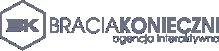 Logo Agencja Interaktywna Bracia Konieczni Pabianice Grobelna 7